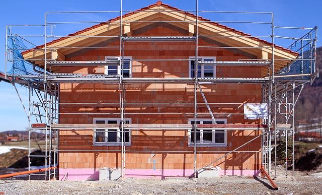 prace budowlane dom jednorodzinny